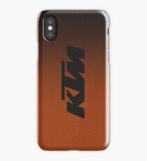 KTM carbon competition iPhone Case/Skin