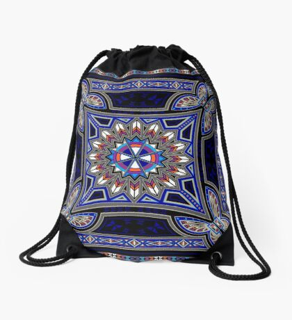 Butterfly Nation Drawstring Bag