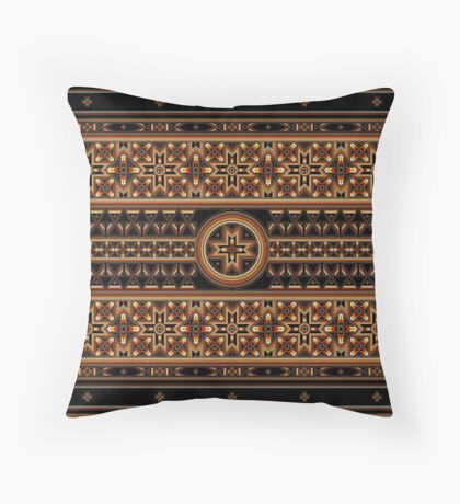Mysteries of the Stars Throw Pillow