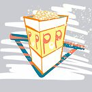 Pop! pop corn fashion by E-Maniak
