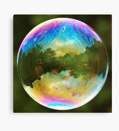 Planet Bubble Canvas Print