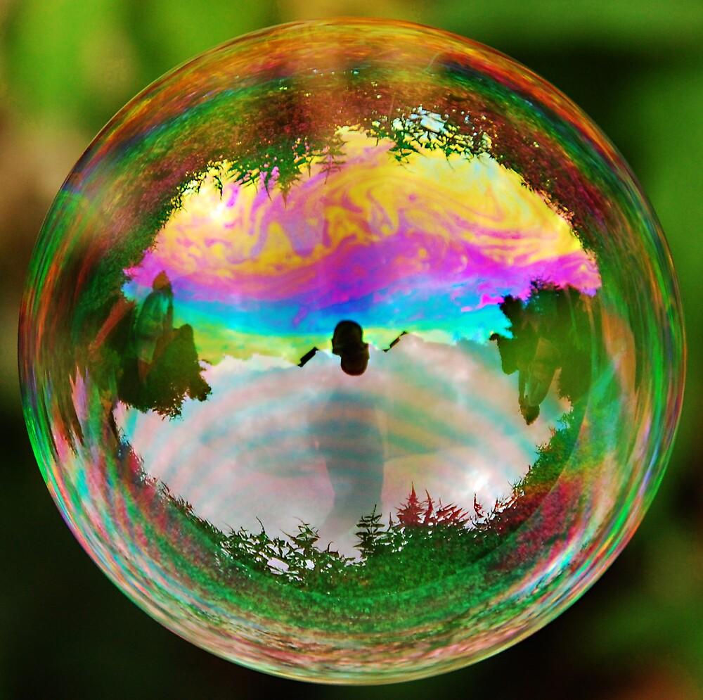 Leafy Bubble by Richard Heeks