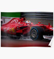 Formel 1 Monza 2017 Poster