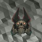Skeleton King Low Poly Art by giftmones