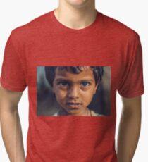 The kid from Hampi Camiseta de tejido mixto