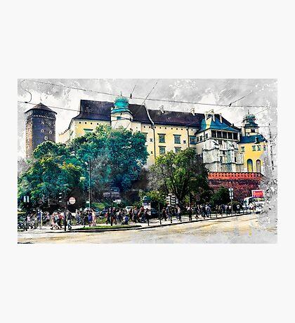 Cracow art 2 Wawel #cracow #krakow #city Photographic Print