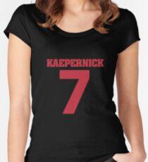Kaepernick tshirt Women's Fitted Scoop T-Shirt