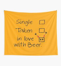 in love with beer Wall Tapestry