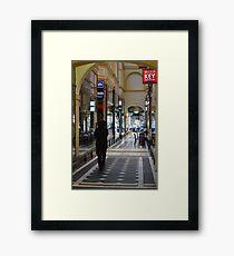Arcade - Melbourne Framed Print