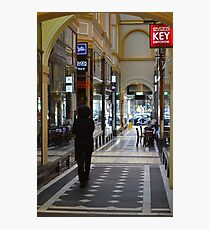 Arcade - Melbourne Photographic Print