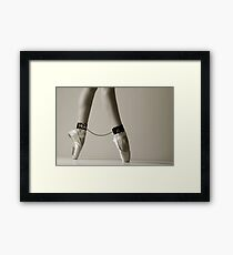 Bondage ballet Framed Print