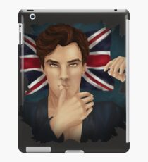 Benedict Cumberbatch Touching Lips iPad Case/Skin