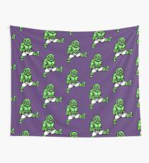 Green Abobo Wall Tapestry