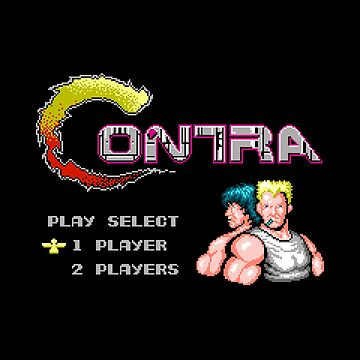 Contra Title by DukeJaywalker