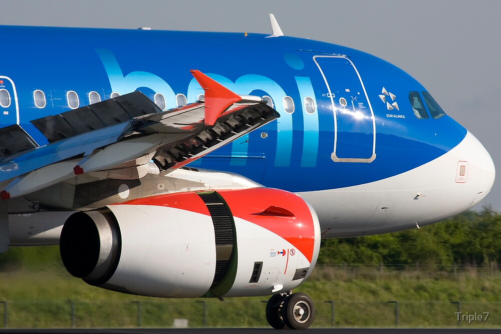BMI A319, Manchester by Triple7