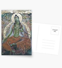 Green Tara  Postcards
