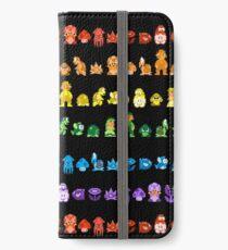 Rainbow Super Mario - Horizontal Version 2 iPhone Wallet/Case/Skin
