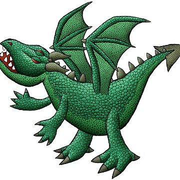 Green Dragon by mikelevett