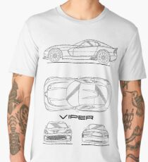 SRT Viper Blueprint Men's Premium T-Shirt