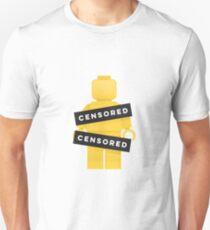Lego Censored Naked Minifigure T-Shirt