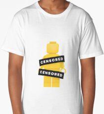 Lego Censored Naked Minifigure Long T-Shirt