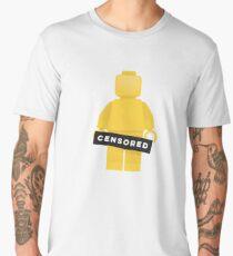 Lego Naked Censored Minifigure Men's Premium T-Shirt