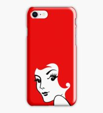 Miss Redhead [iPad / Phone cases / Prints / Clothing / Decor] iPhone Case/Skin