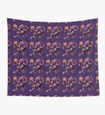 Super Metroid Pink Chozo Wall Tapestry