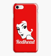 Miss Redhead (text) [iPad / Phone cases / Prints / Clothing / Decor] iPhone Case/Skin