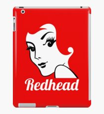 Miss Redhead (text) [iPad / Phone cases / Prints / Clothing / Decor] iPad Case/Skin