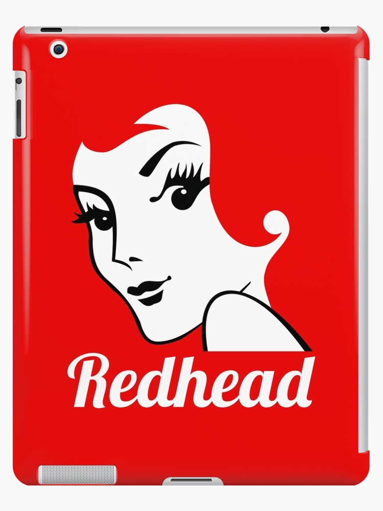 Miss Redhead (text) [iPad / Phone cases / Prints / Clothing / Decor] by Damienne Bingham