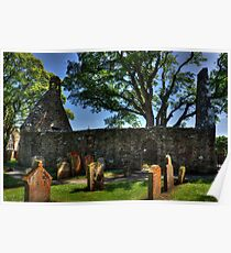 Auld Kirk at Alloway Poster