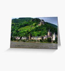 Bacharach am Rhein Greeting Card