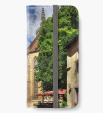 Towers of St Jakobskirche iPhone Wallet/Case/Skin