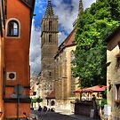 Towers of St Jakobskirche by Tom Gomez