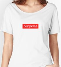 Surpeme - not NY Women's Relaxed Fit T-Shirt