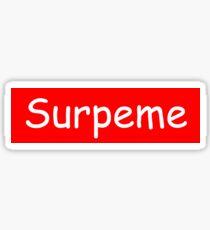 Surpeme - not NY Sticker