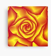 A rose for lacitrouille Canvas Print