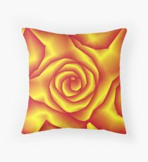 A rose for lacitrouille Throw Pillow