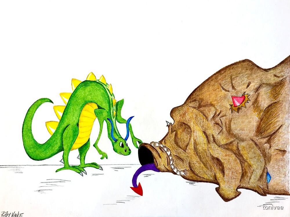 Bag of Dragons by tonivee