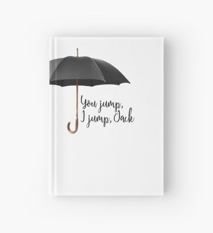 You Jump, I Jump Hardcover Journal