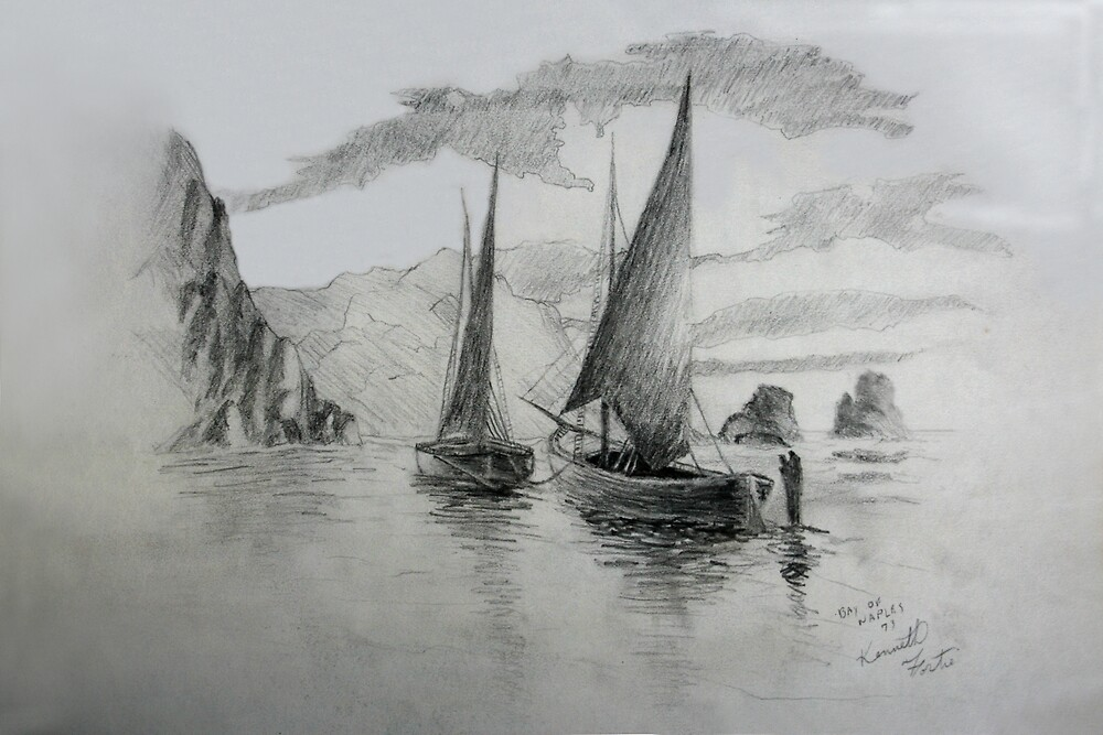 Bay of Naples by Ken Fortie