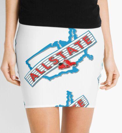 Scooter T-shirts Art: Allstate Logo Design Mini Skirt
