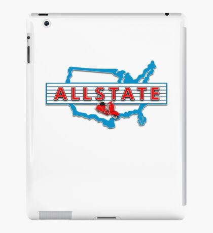 Scooter T-shirts Art: Allstate Logo Design iPad Case/Skin