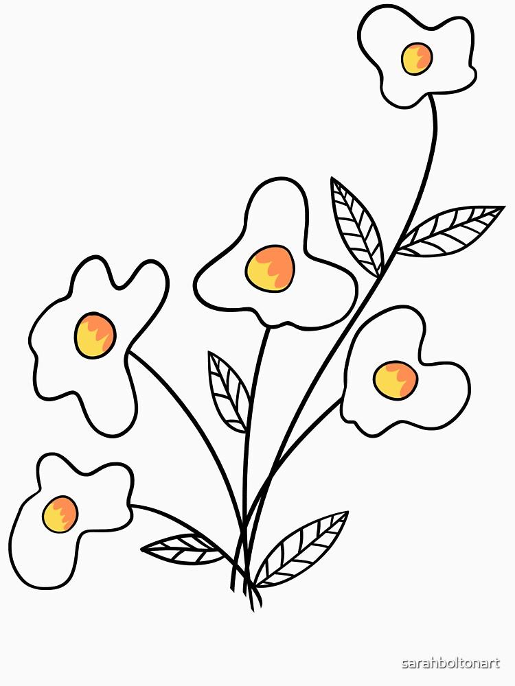 Einfach Blume hinzufügen von sarahboltonart