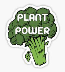 Plant Power - broccoli Sticker