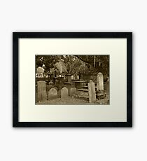 Old Southern Cemetery  Framed Print