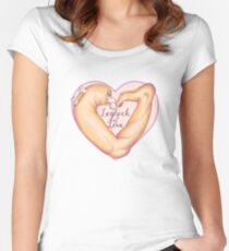 Leglock of Love Women's Fitted Scoop T-Shirt