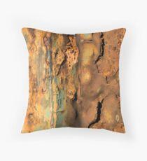 Italian rusty rail Throw Pillow