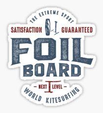 Foilboard Kitesurf  Sticker